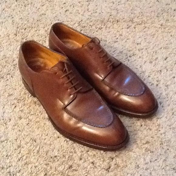 John Lobb Shoes   Chambord Brown Leather 8675 Nice   Poshmark a7bb0238fb1